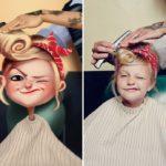 Художник превращает фотографии случайных людей в удивительные иллюстрации