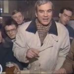 Владимир Молчанов в советской пивной в марте 1991 года