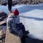 Бег по дрейфующей льдине