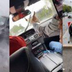 В Тюмени водитель «Мерседеса» влетел в столб