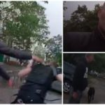 Полицейским пришлось открыть огонь во время задержания пьяного водителя
