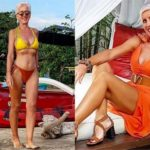 Бывшая модель купальников и в 62 года сводит мужчин с ума