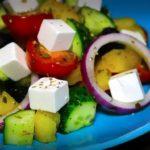 Греческий салат (Простой рецепт)