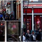 Знаменитый район красных фонарей Амстердама вернулся в бизнес после карантина из-за коронавируса
