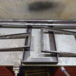 Тачанка для сварочных аппаратов из металлолома