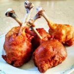 Цыпленок в карри-кляре