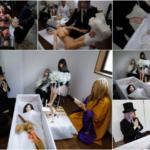 Японский художник устраивает похороны секс-кукол для убитых горем владельцев