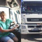 Учительница с 30-летним стажем стала дальнобойщицей и теперь водит КАМАЗ