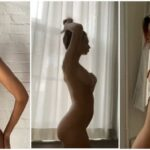 29-летняя американская модель и актриса Эмили Ратаковски (Emily Ratajkowski) в фильме о своей беременности для журнала Vogue