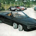 Шестиколесный спортивный автомобиль Panther 6