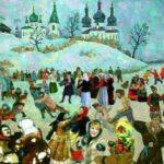Как богатые люди на Руси крестьян развлекали