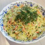 Вкусный и полезный витаминный салат