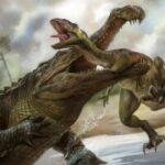 Саркозух: Чем дальше в прошлое, тем толще крокодилы. Кто питался динозаврами?