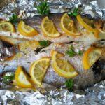 Так можно готовить любую рыбу, а у меня 2 в 1 (сибас и  дорадо)