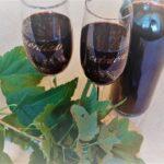 Вино из чёрной смородины