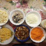 Грибной суп с молодым картофелем и кукурузой