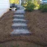 Как сделать ступеньки на склоне во дворе дома или на даче
