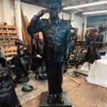 Шериф из Флориды потратил 75 тысяч долларов из бюджета на статую себя-любимого в полный рост