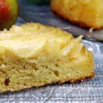 Пирог перевертыш с грушами