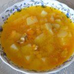 Рецепт горохового супа с куриным мясом