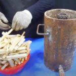 Турбо-печь на дровах