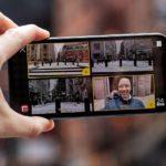 Приложение Filmic Double Take позволяет снимать с двух камер iPhone одновременно