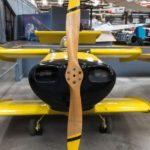 Самый маленький в мире пилотируемый самолет — Bumblebee («Шмель»)