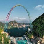 В Китае построили самые большие в мире качели