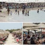 В Греции +40, власти открыли пляжи, и к морю сразу рванули тысячи человек