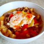 Мадридский чесночный суп