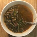 Корейский суп Юккедян (육개장)