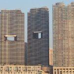 Зачем в Гонконге строят здания с отверстиями