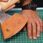 Ножны для топора из кожи своими руками
