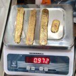 Почти килограмм золота из задницы