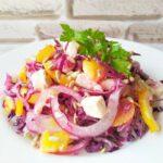 Новый салат из капусты, у этого салата нет конкурентов, очень вкусный!
