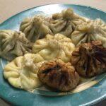 Хинкали ( груз. ) с мясом и сыром