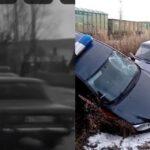 Дерзкий водитель на «шестерке», удирая от погони, перевернул машину Росгвардии