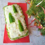 Праздничный салат с курицей «Елочки в снегу» на Новый год 2021!