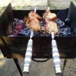 Как быстро разжечь угли в мангале