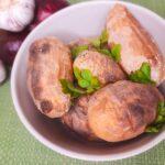 Запечённый картофан, вкус как на костре