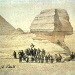 История одной фотографии: группа самураев позирует на фоне Большого сфинкса (Египет, 1864 год)