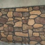 Как сделать имитацию камня на стене