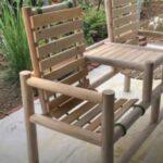 2-х местная деревянная скамейка со столиком: как сделать своими руками