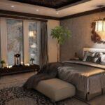 Как оригинально задекорировать стены в спальной комнате